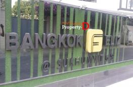 CD57110013-Condo for sale, Bangkok Feliz Sukhumvit 69, 4th floor, size 41 sq m, sold with furniture and electrical appliances.