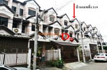 TH58040004-3 Bedroom Townhouse for sale size 17 sq. In villages rich City C Bangkok Yai district.